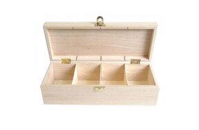 ΞYΛINO KOYTI (TEA BOX) 27x11x8cm